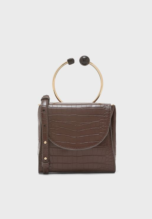 Albany Ring Handle Crossbody