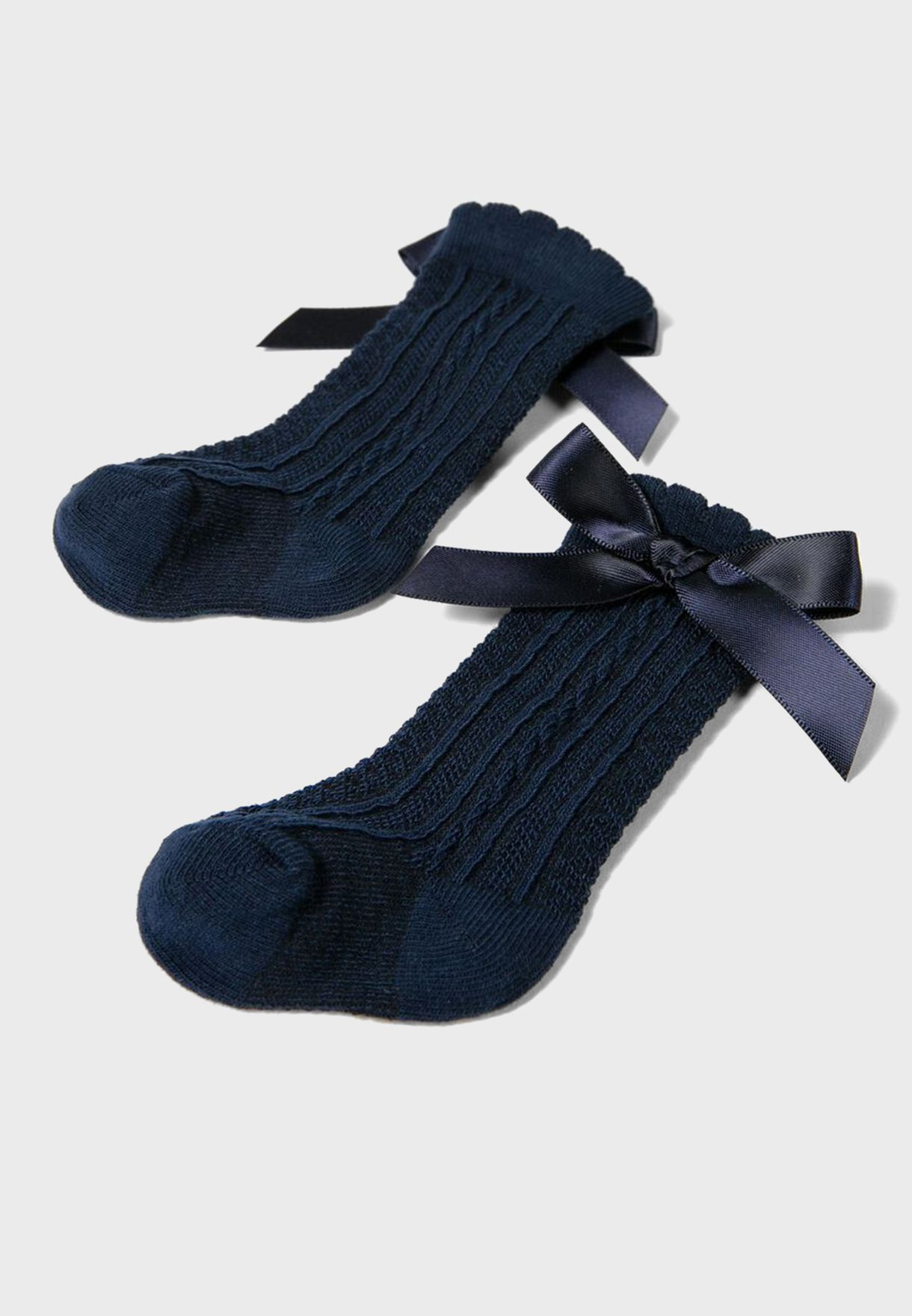 Kids Knot Detail Socks