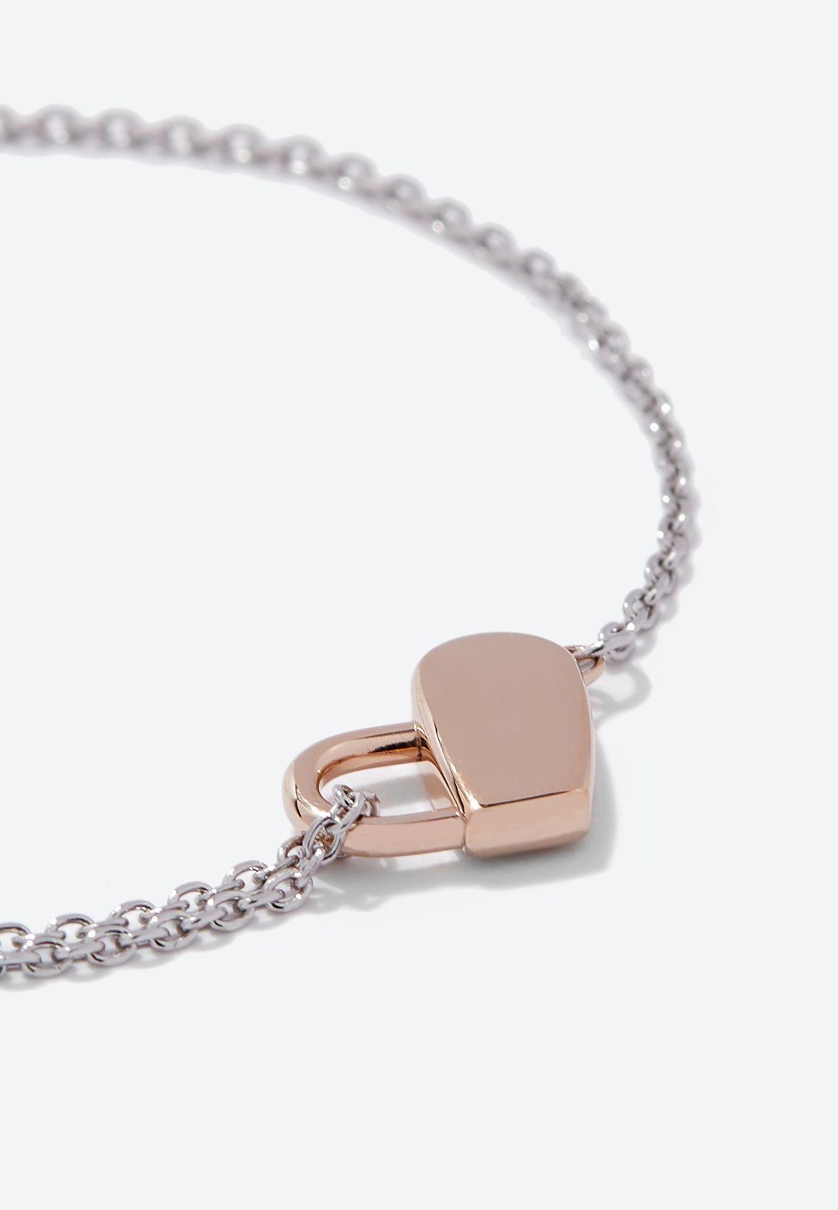 1580066 Soulmate Heartlock  Bracelet