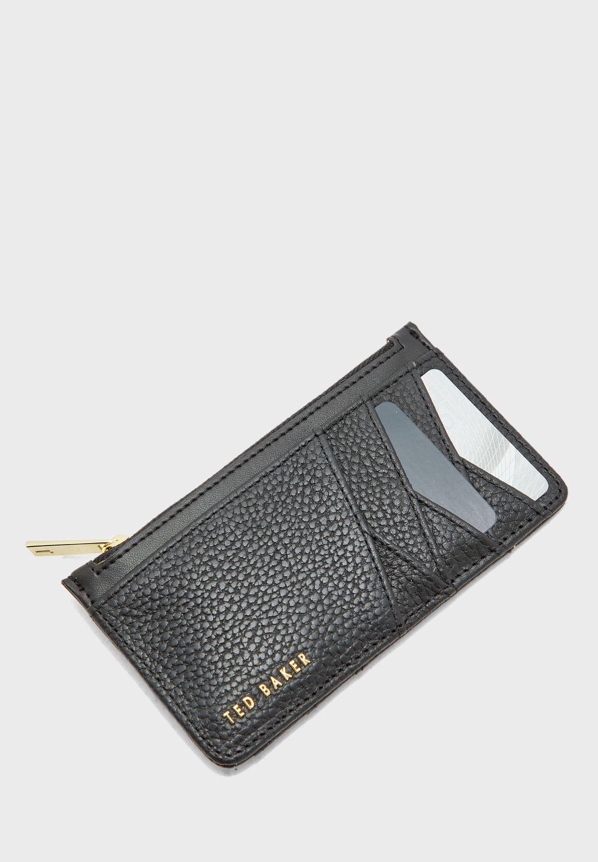 Gerii Diagonal Zipped Cardholder