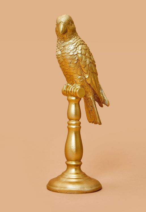 Gold Cockatoo Ornament