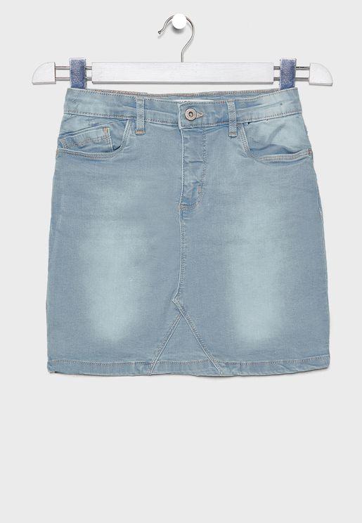 تنورة جينز انيقة