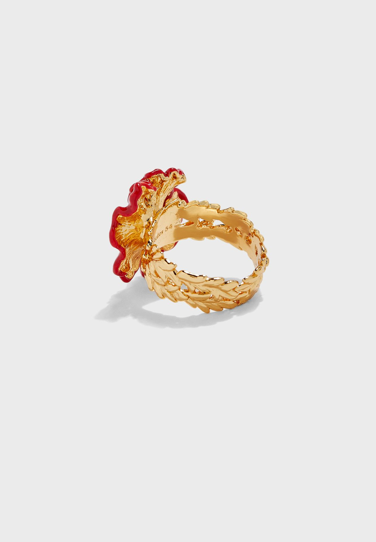 Poppy Floral  Ring