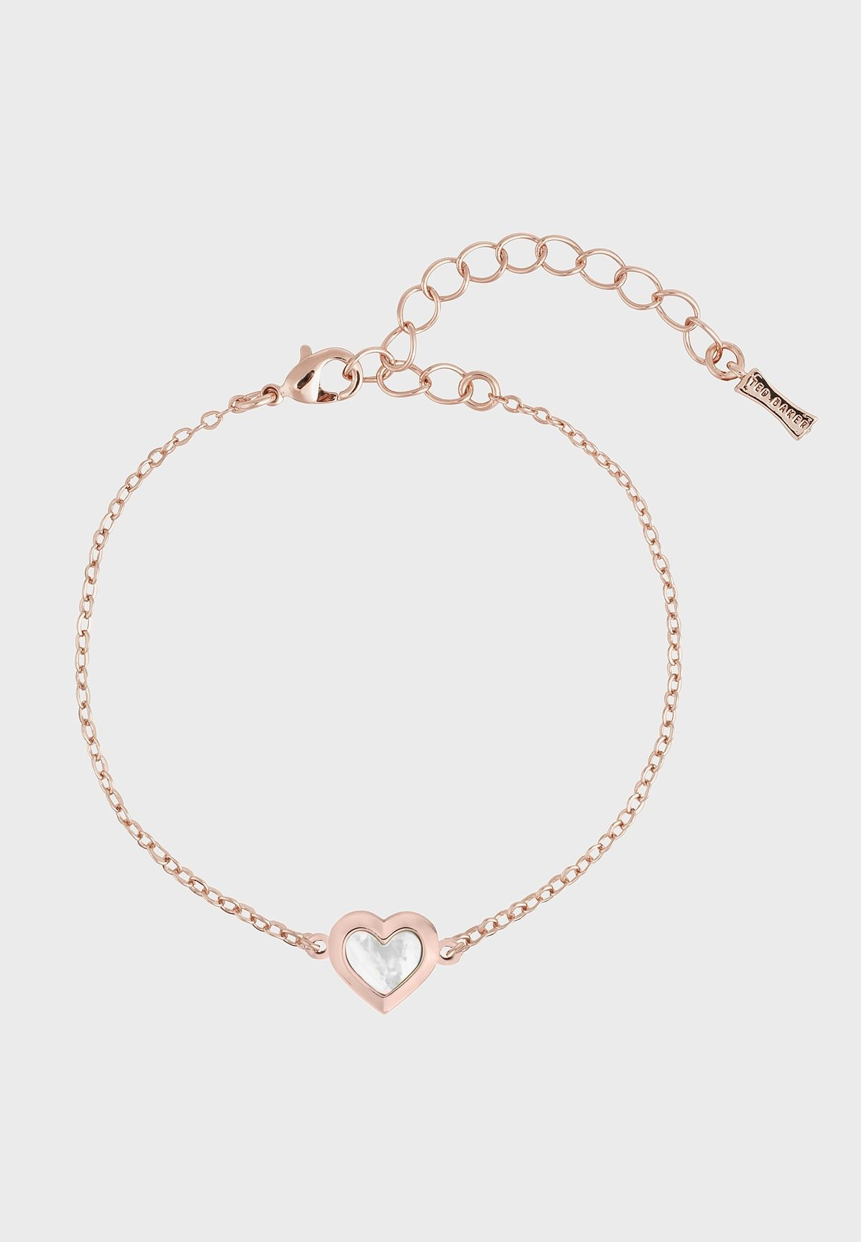 Heleem Mother Of Pearl Heart Bracelet
