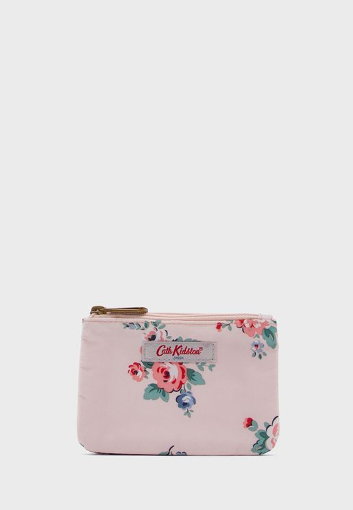 Double Pocket Printed Purse