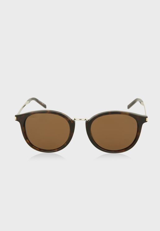 SL130COM-30000843007 Round Sunglasses