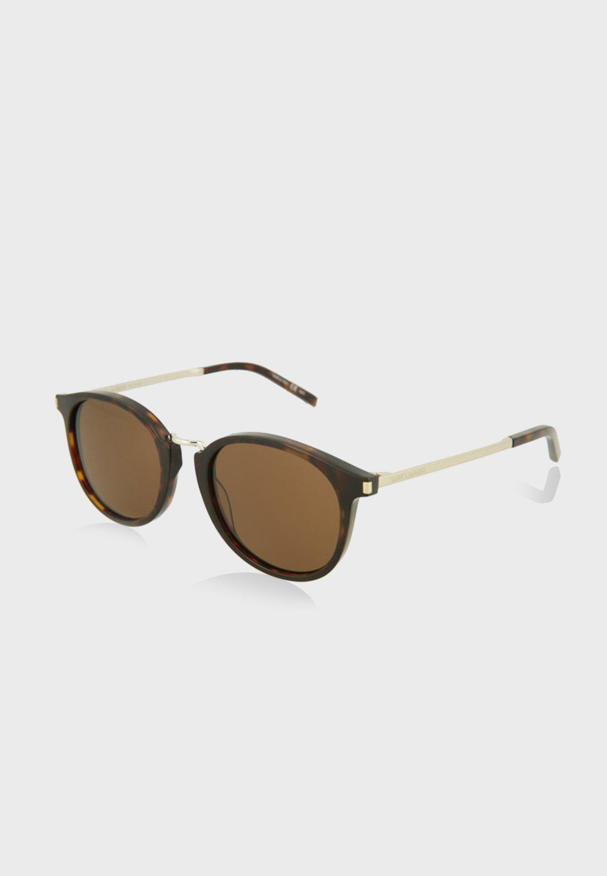 نظارة شمسية دائرية