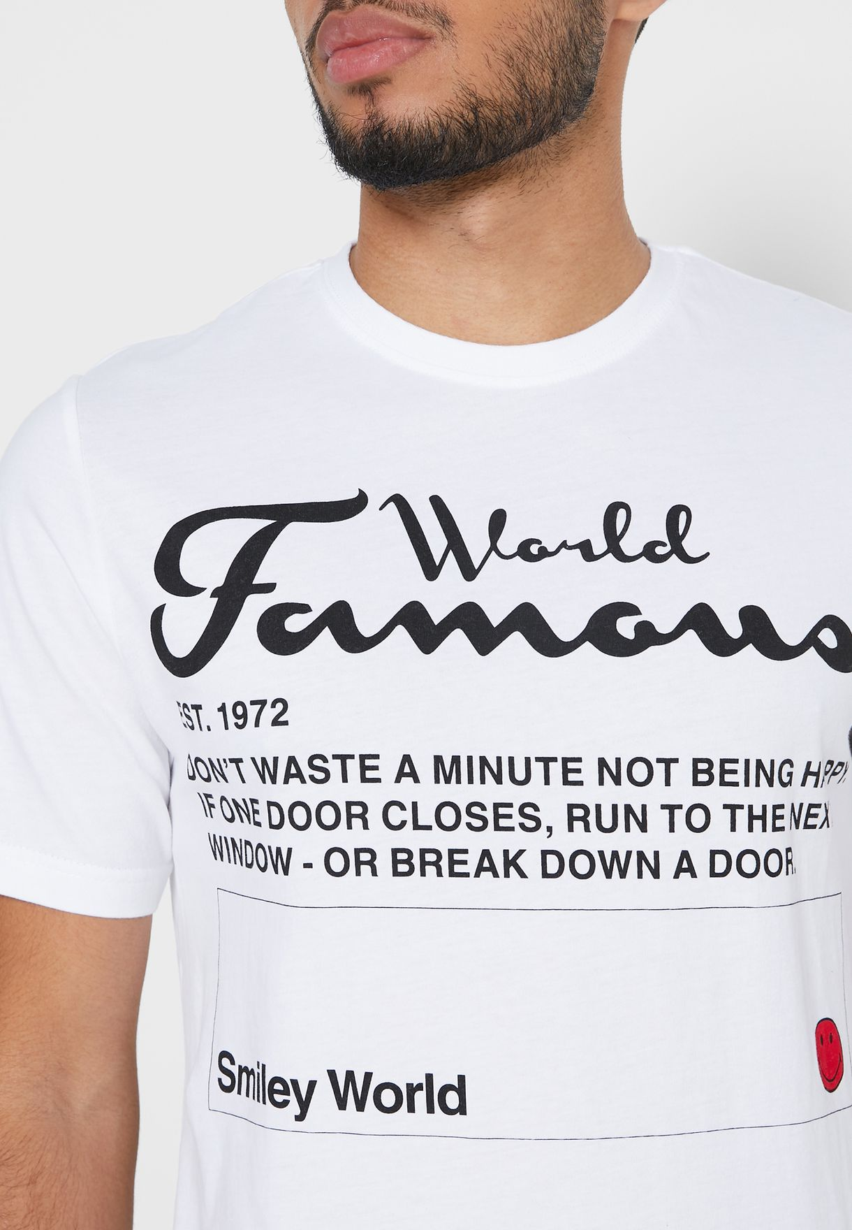 World Famous Crew Neck T-Shirt