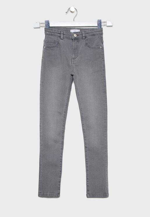 Kids Stone Wash Jeans