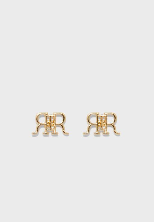 Clean RIR Stud Earring
