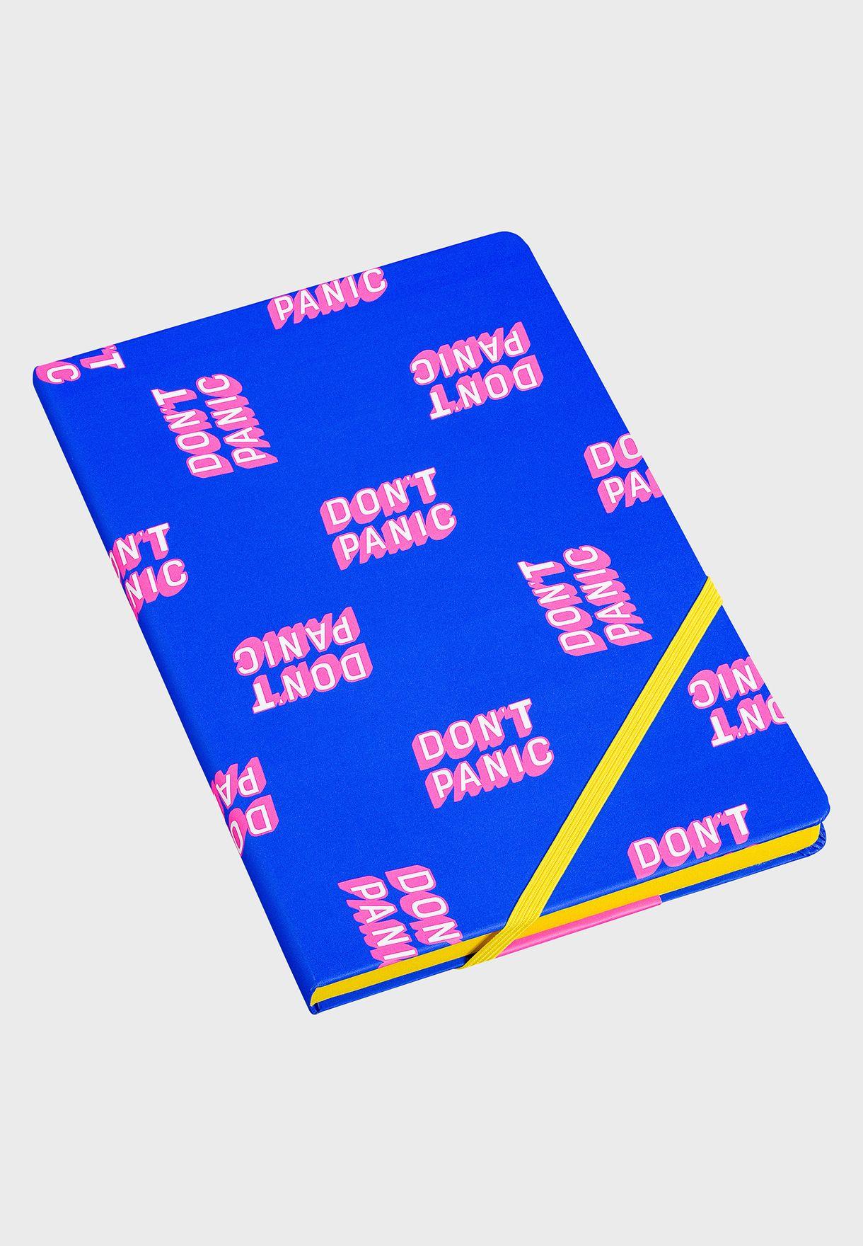 A5 Don't Panic Notebook