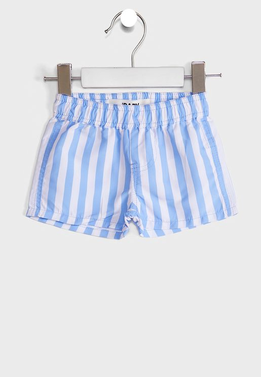 Kids Printed Casual Shorts