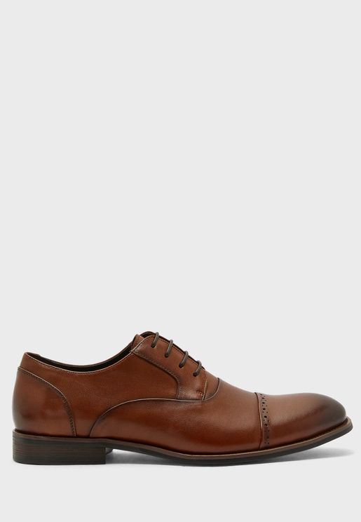 Genuine Leather Formal Lace Ups