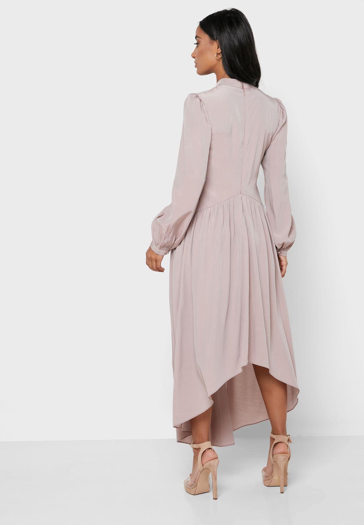 فستان مزموم