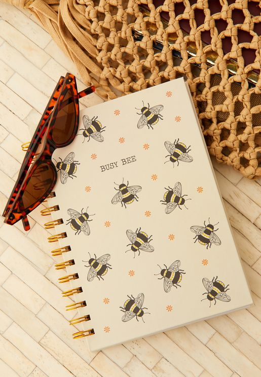 A5 Busy Bees Notebook