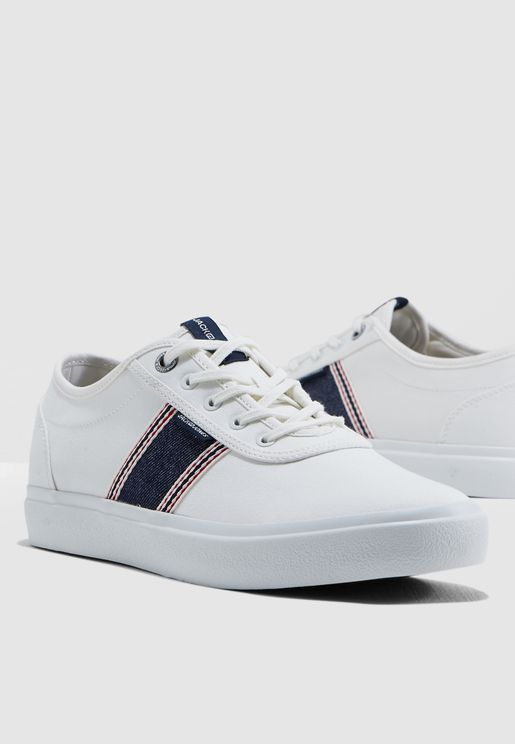 Austin Denim Stripe Sneakers