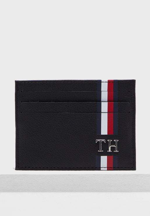 Logo Stripe Credit Card Holder