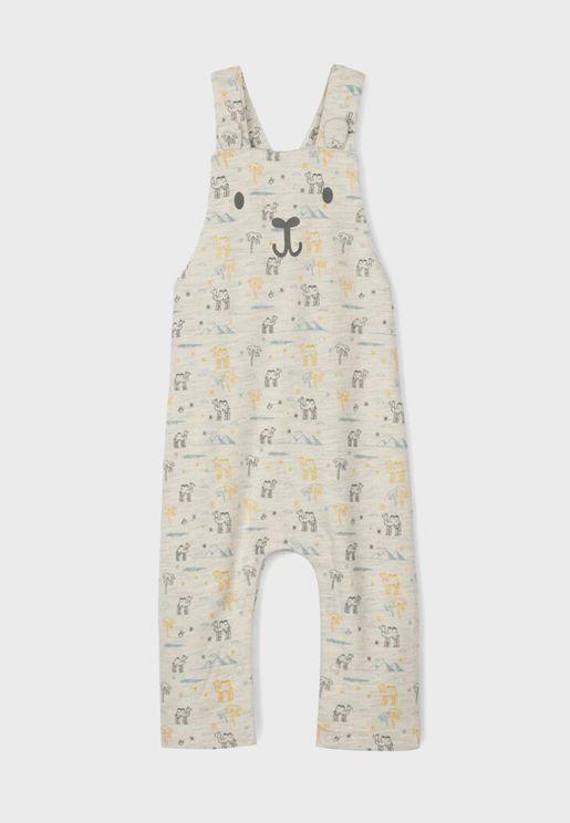 Infant Camel Print Onesies
