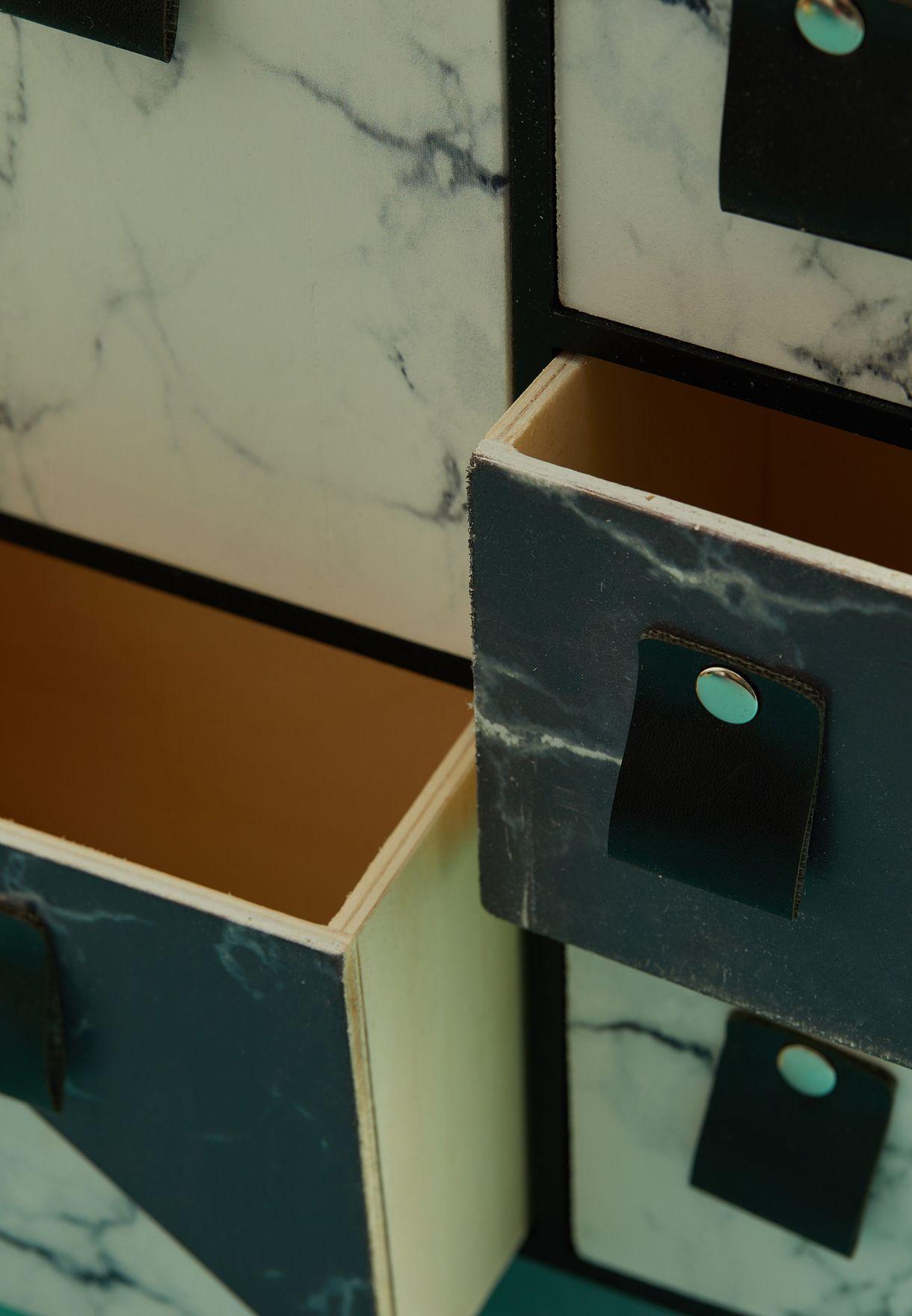 وحدة تخزين بادراج متعددة