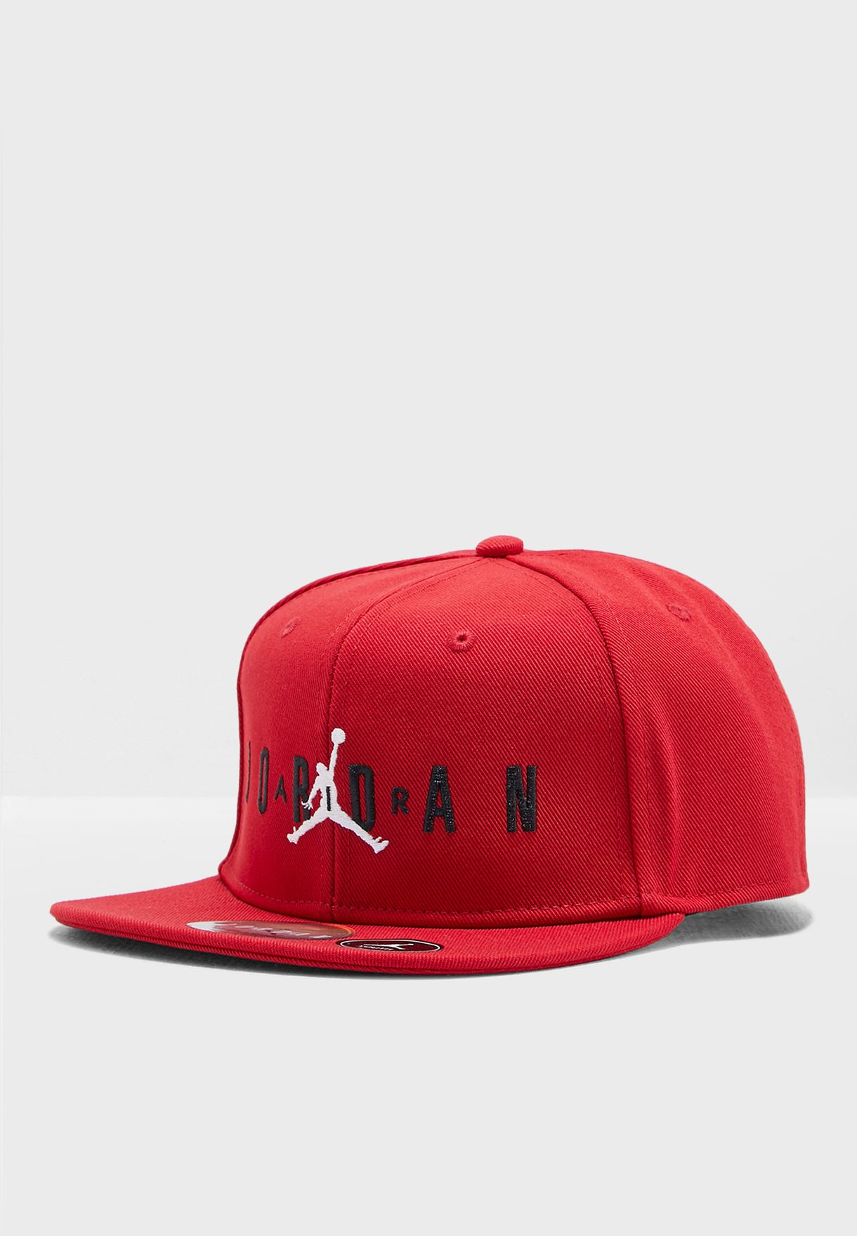 9d022d9c33ec40 Shop Nike red Jordan Jumpman Air Cap 9A0128-R78 for Kids in UAE ...