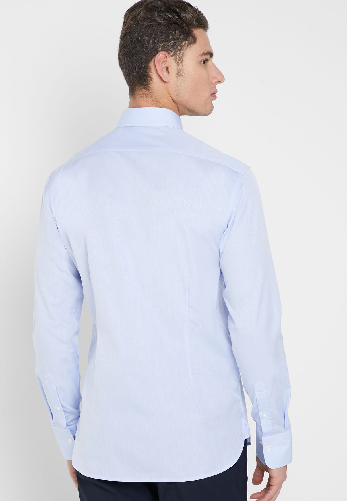 Dot AOP Slim Fit Shirt