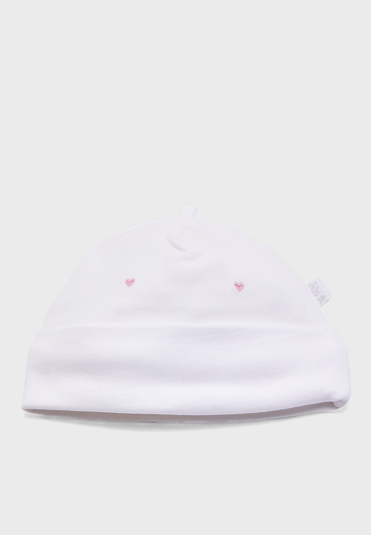 Infant Heart Print Hat