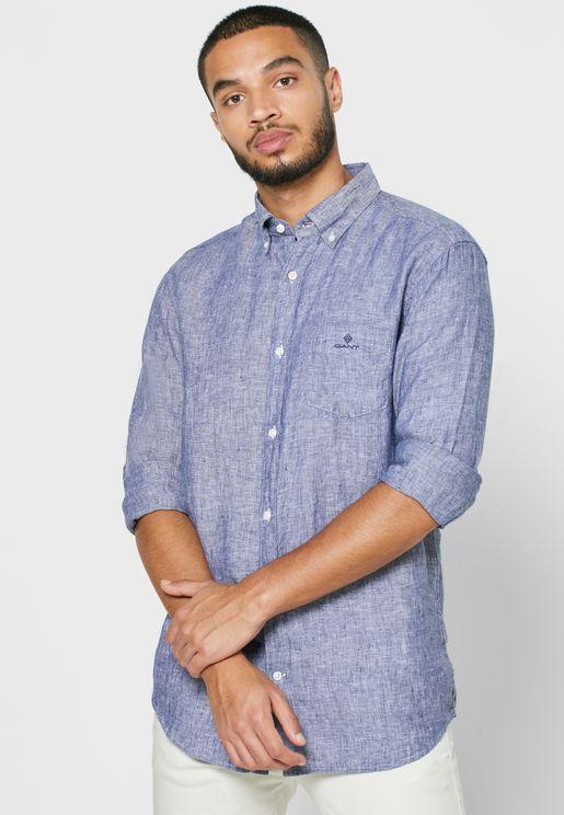 Linen Regular Fit Shirt