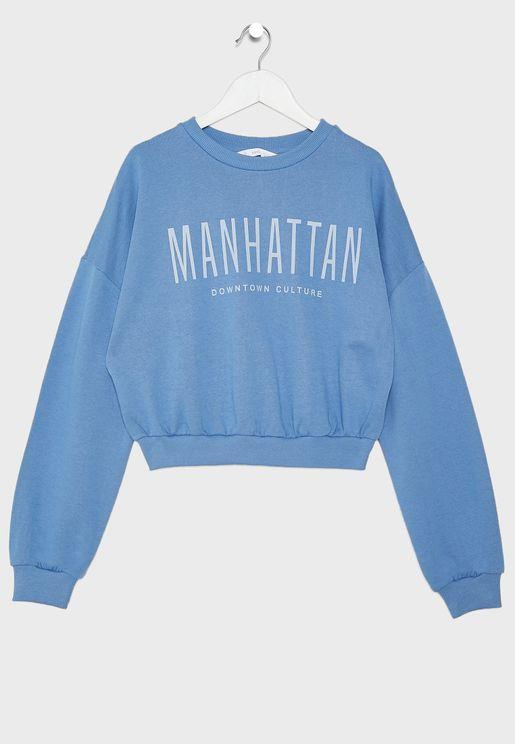 Kids Manhattan Sweatshirt