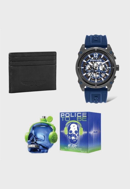 Watch + Wallet + Perfume Gift Set