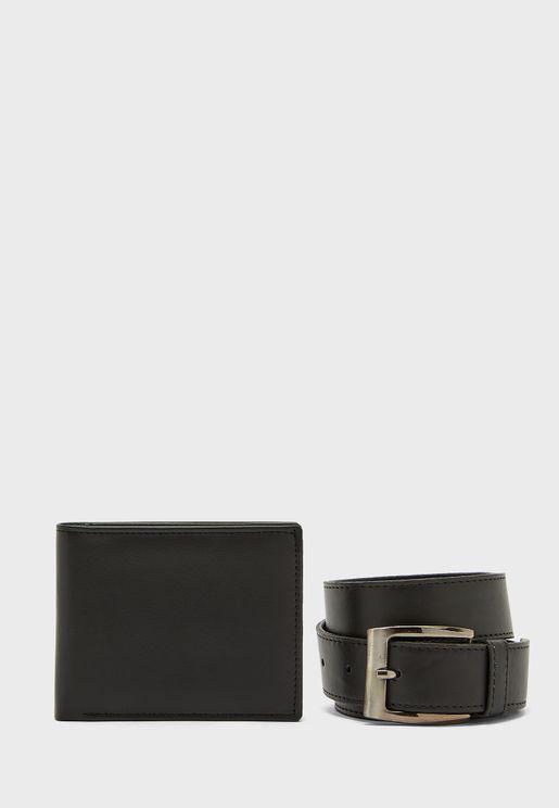 محفظة وحزام خصر