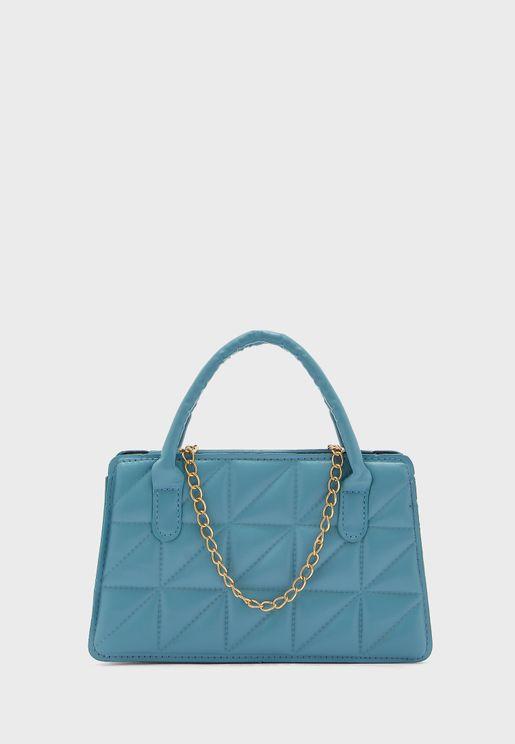 Quilted Mini Tote Handbag
