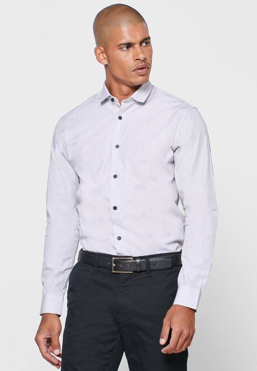 Donesmart-Camp Slim Fit Shirt