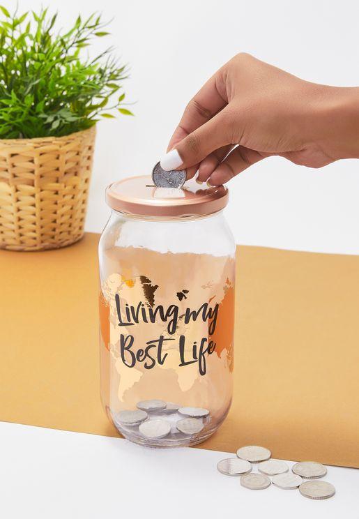 Living My Best Life Jar