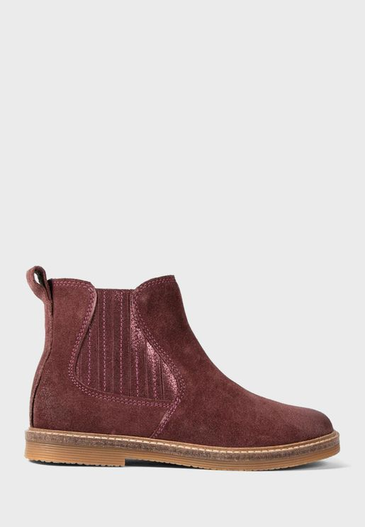 Kids Suede Boot