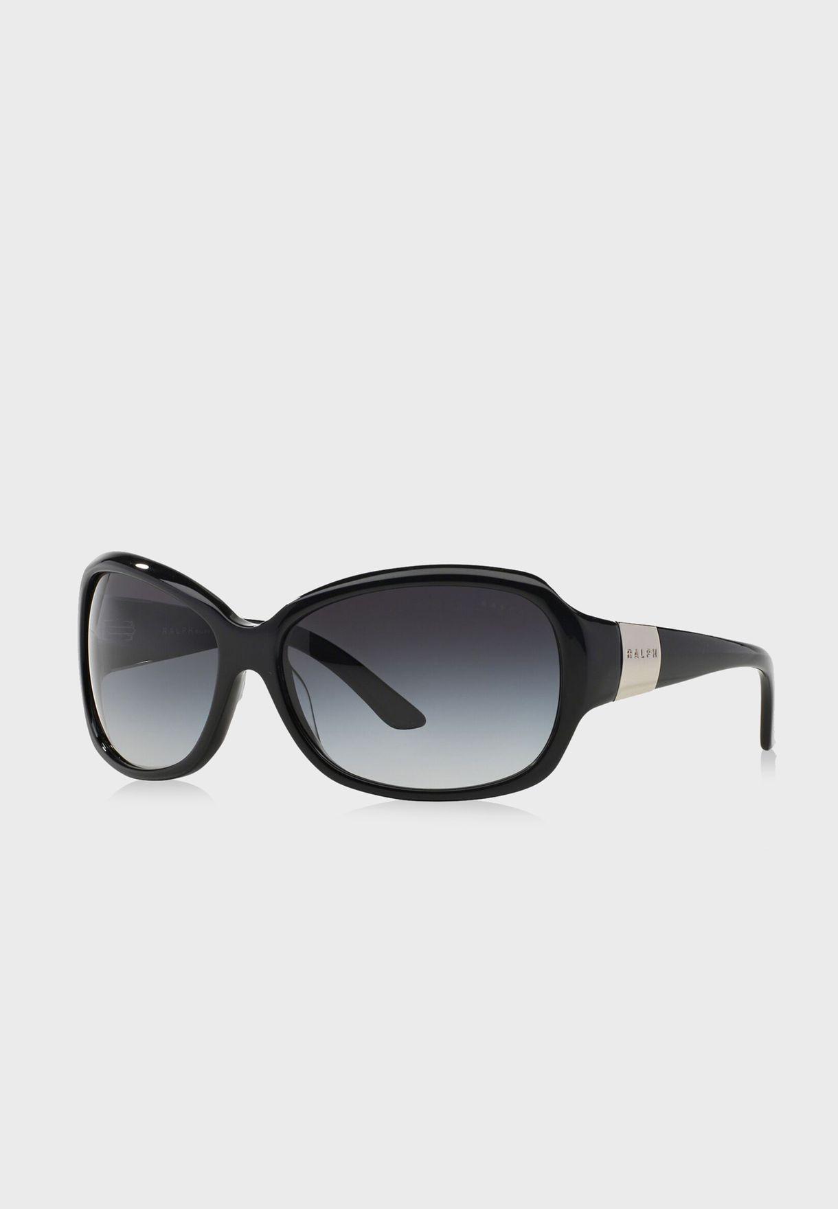 29e6307333f Shop Ralph Lauren Polo black Butterfly Sunglasses 805289135128 for ...