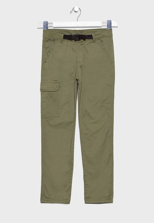 Kids Side Pocket Detail Trouser