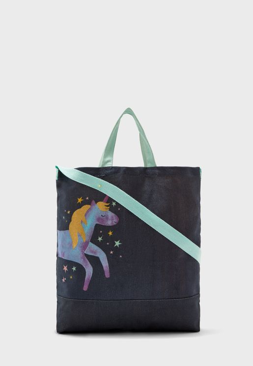 Kids Unicorn Tote