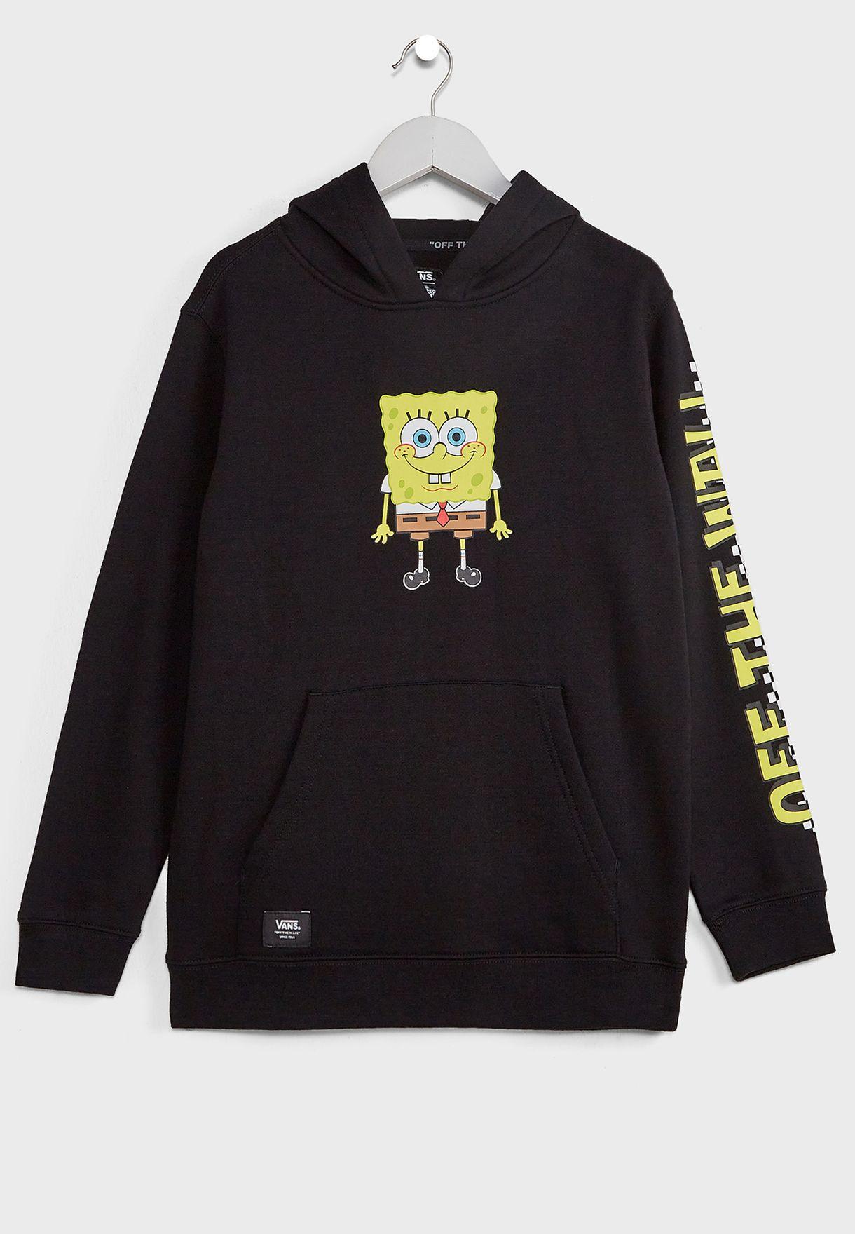Youth SpongeBob Happy Face Hoodie