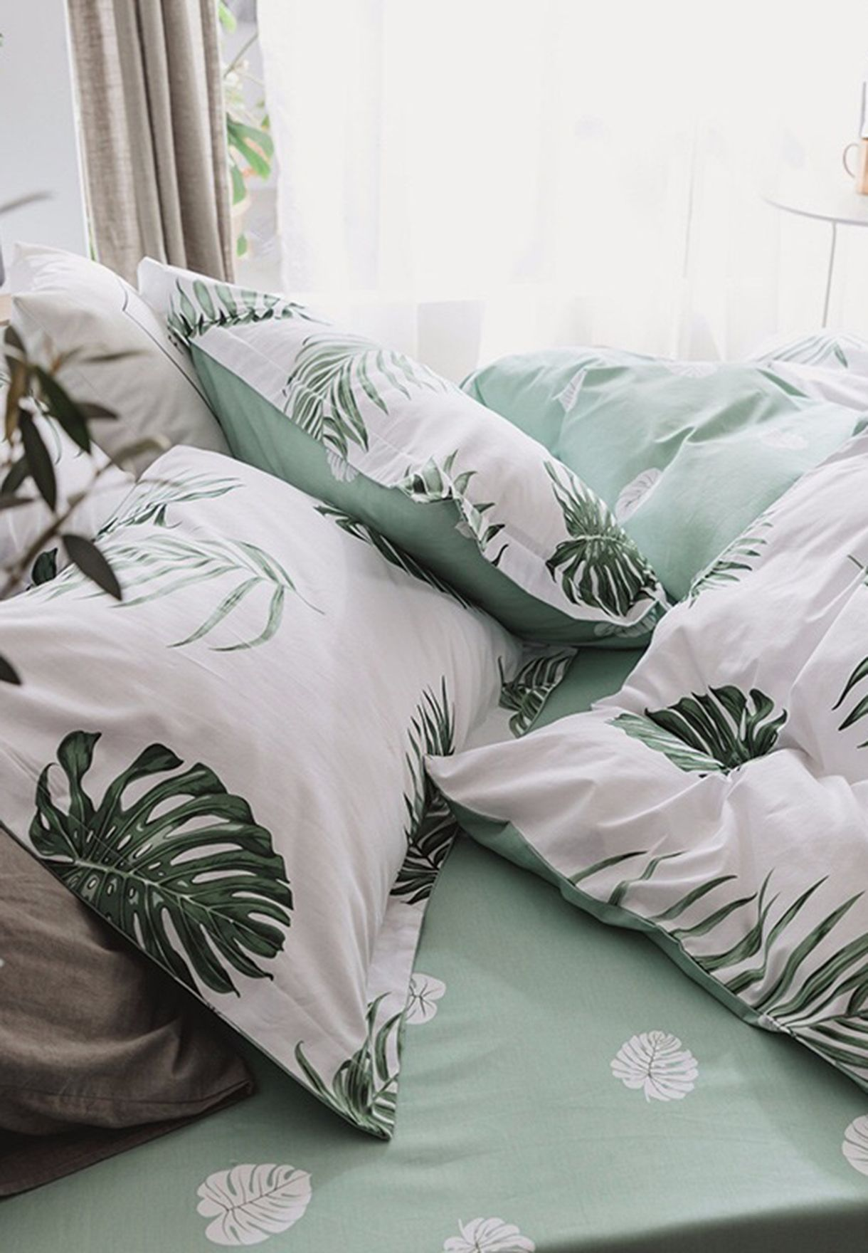 Tropical Print Bedding Set - King 200 x 230cm