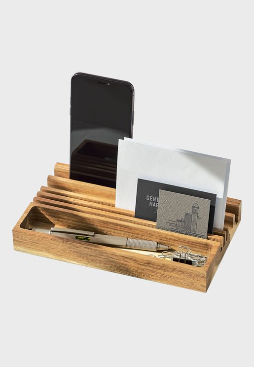 Wooden Desk Stationary