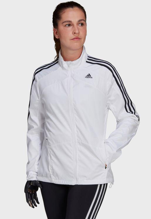 3 Stripe Marathon Jacket