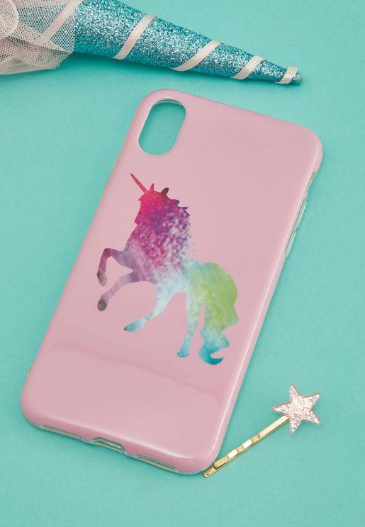Unicorn iPhone-XS/X Case