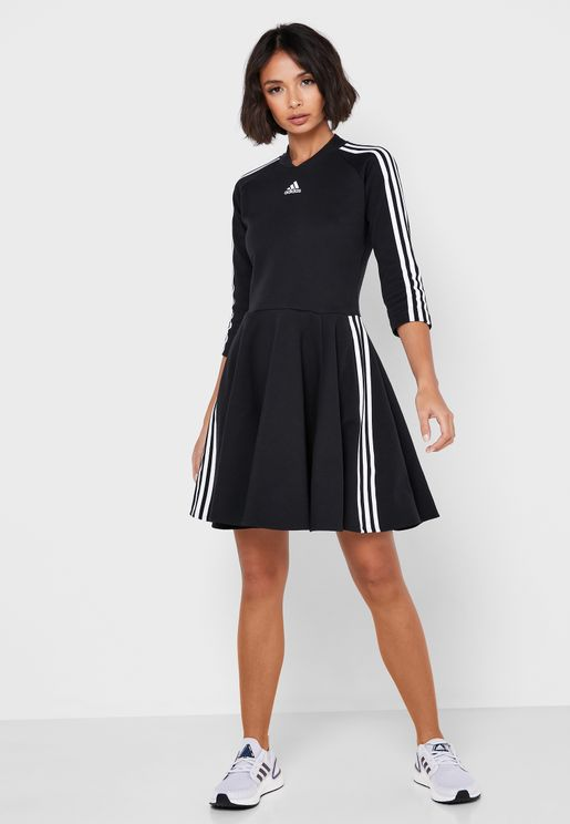 3 Stripe Dress