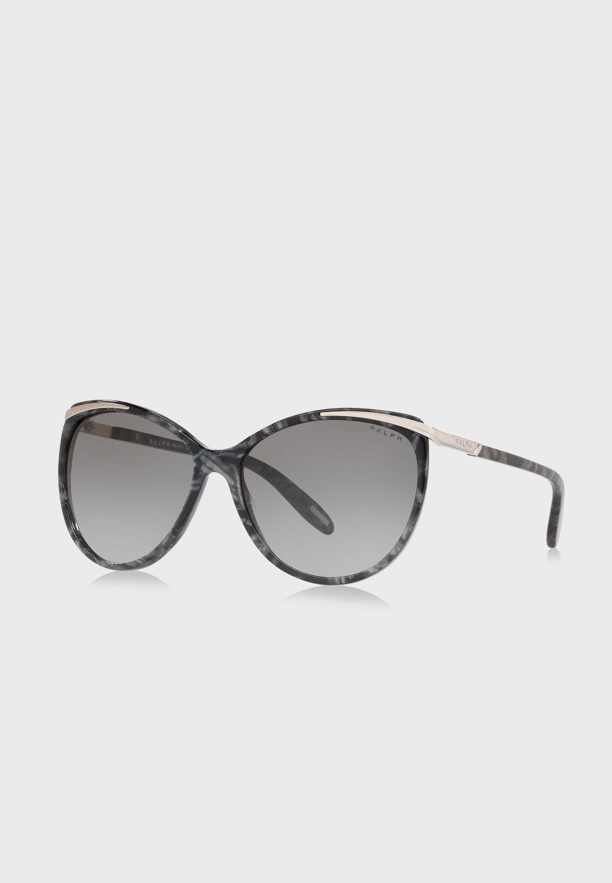 0RA5150 Cateye Oversized Sunglasses