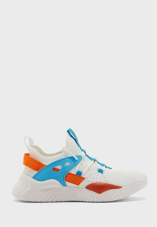 Sporty Side Detail Sneakers