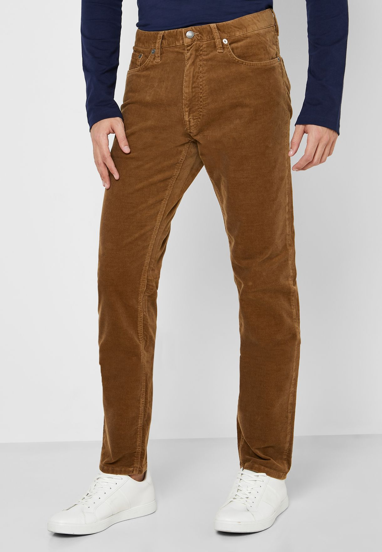 Corduroy Slim Fit Trousers