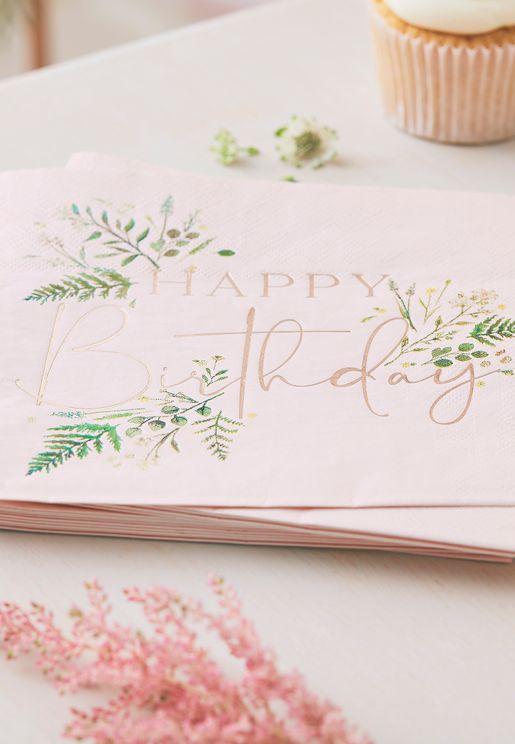 مناديل ورقية لعيد ميلاد