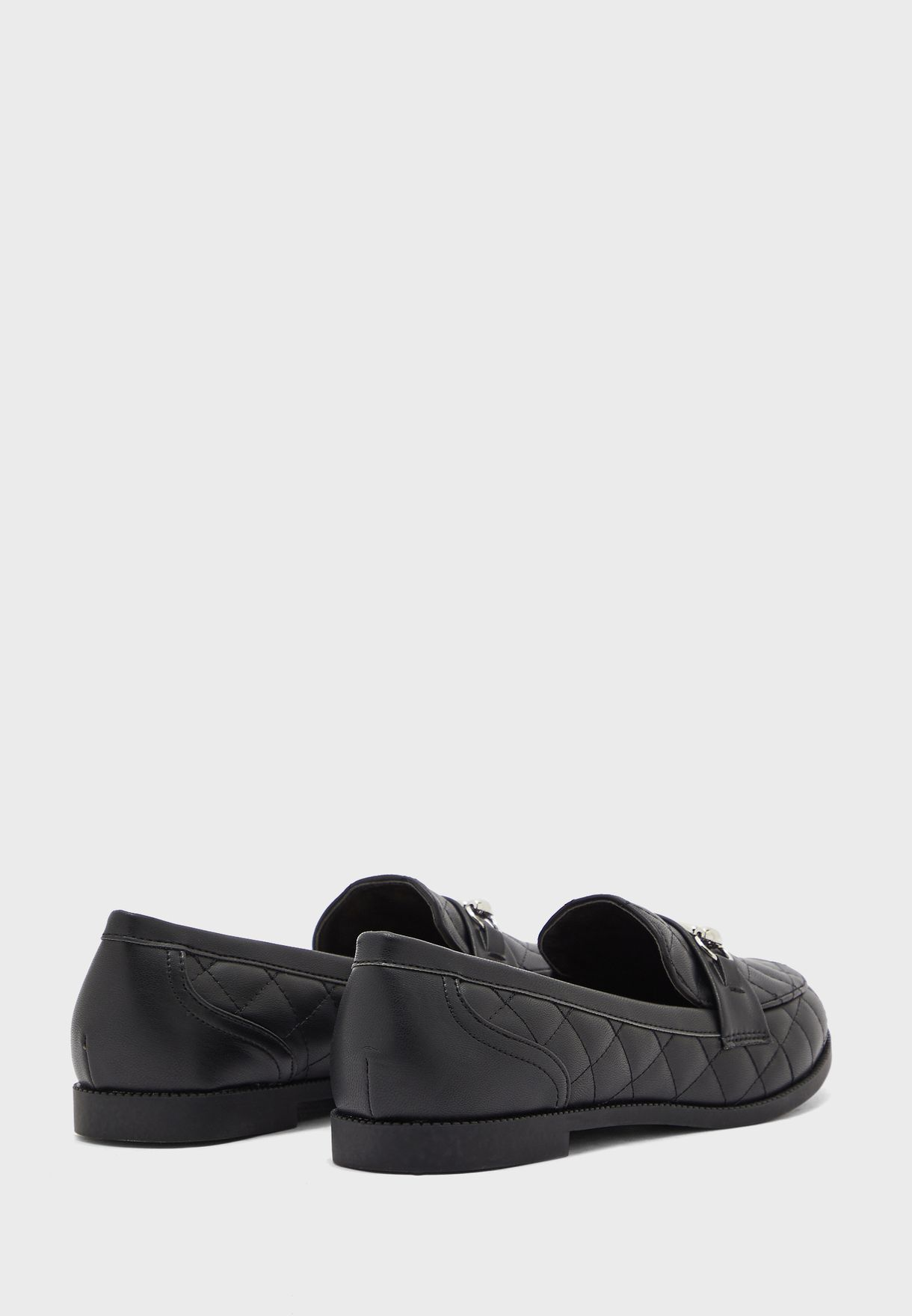 Jiamond Quilted Moccasins