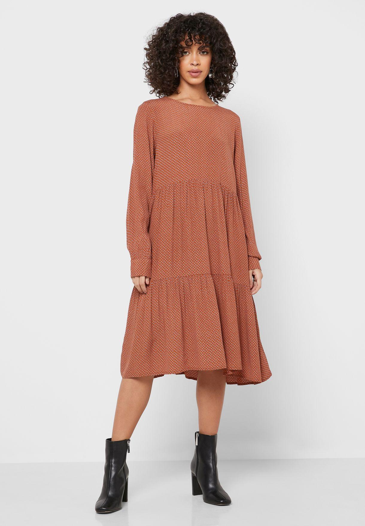 فستان فيسكوز خالص