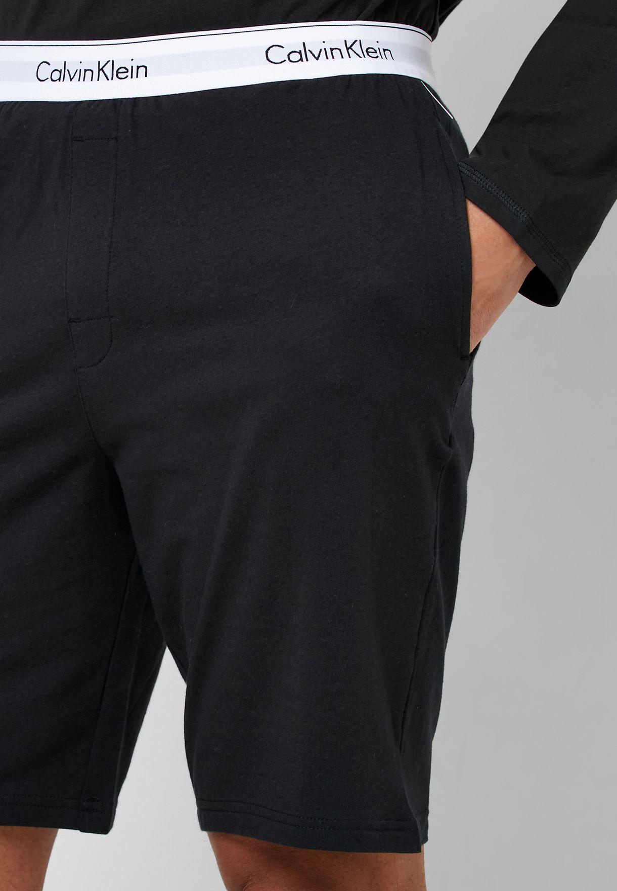 Logo Waistband Shorts